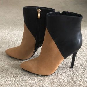 Charles by Charles David Suede and Leather booties